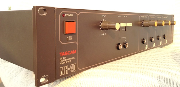Tascam Mh 40b Headphone Amp Studio Stuff Garage Sale